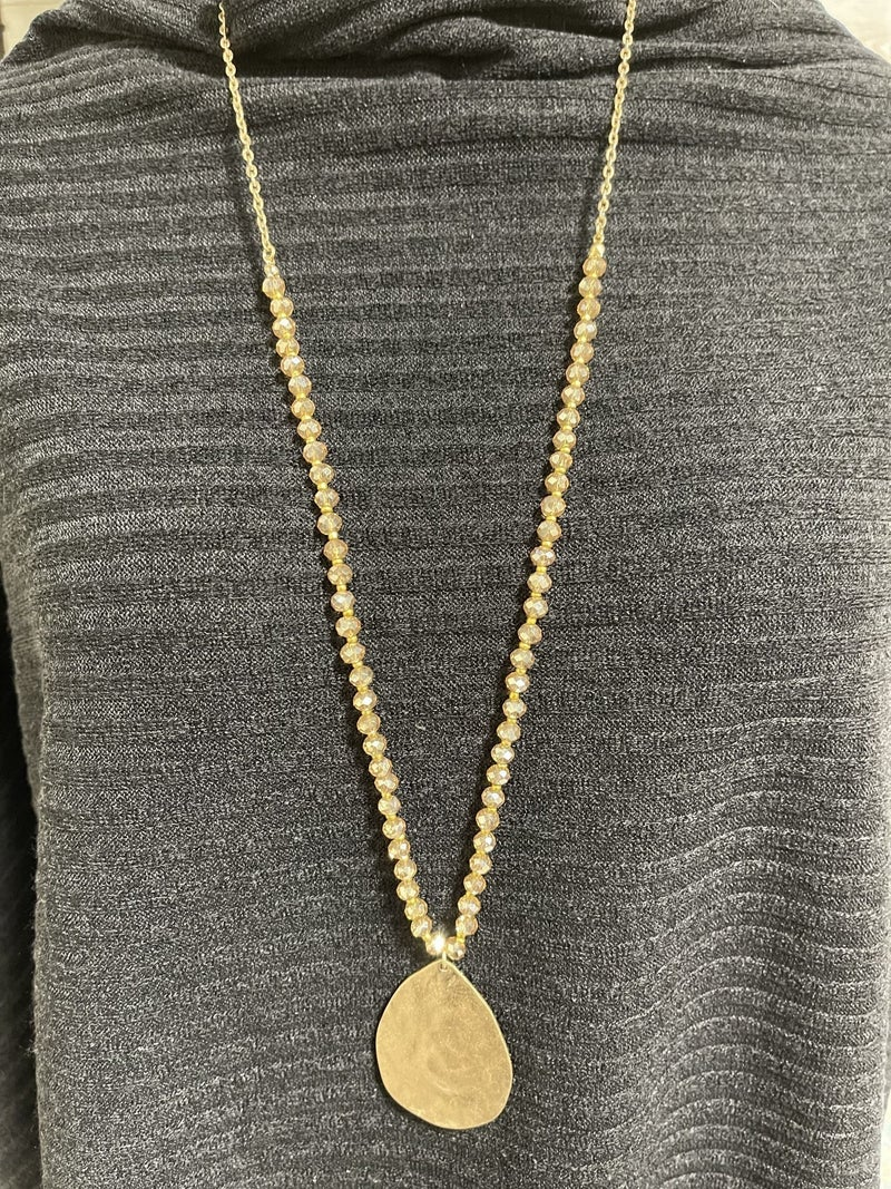 All That Glitters Is Gold Necklace