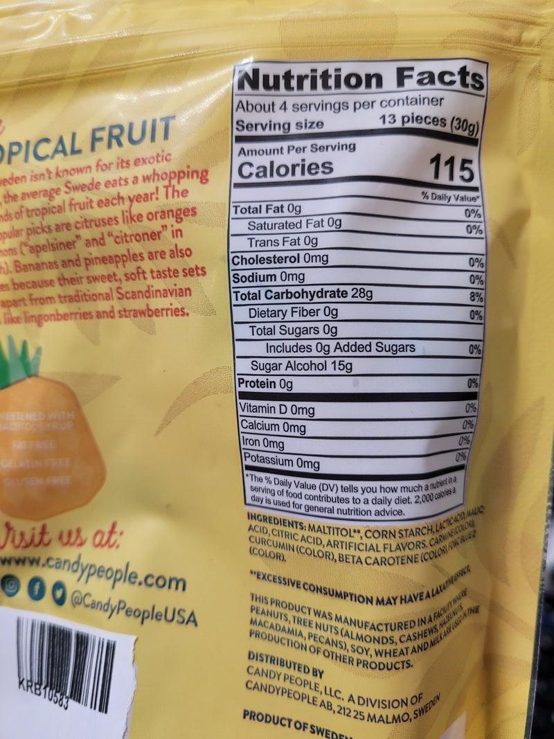 Sugar Free Exotic Fruitz