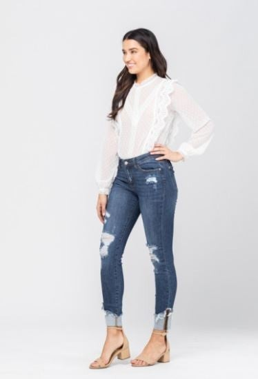Feelin' Good Skinny Judy Blue Jeans