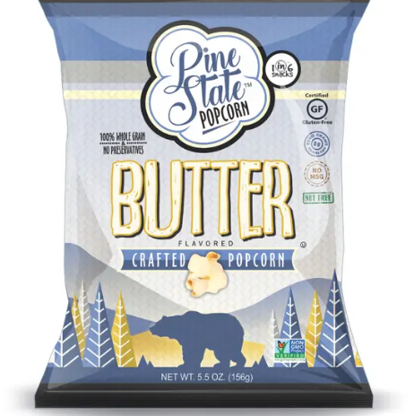 Butter Favored Crafted Popcorn