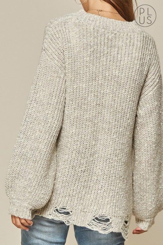 Distressed Sweater