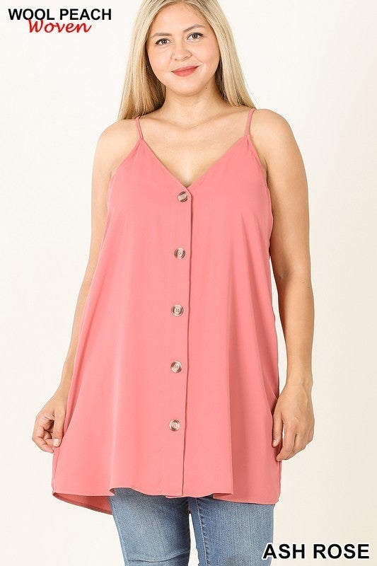 Sassy Button-Up Cami