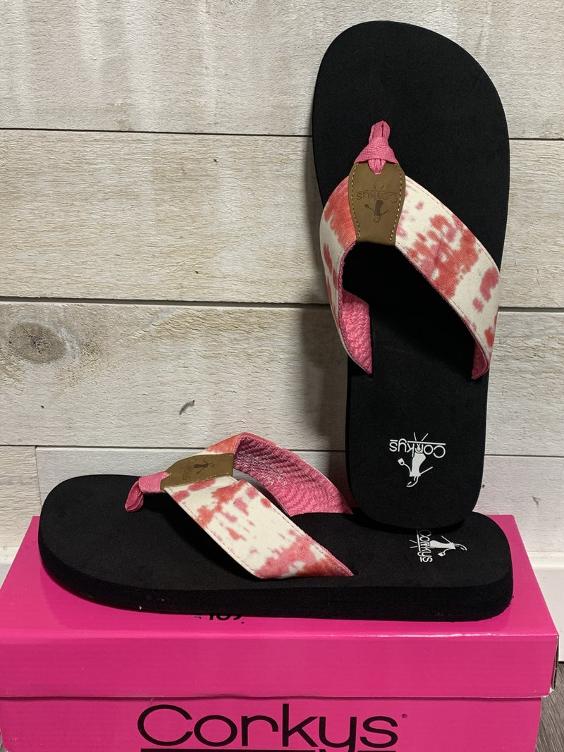 Pink Bahama Mama Flip-Flops