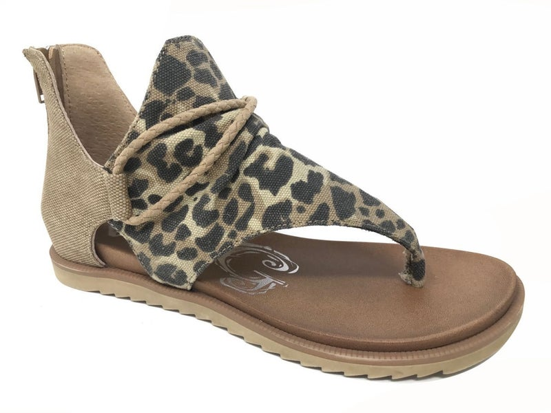 Angelika Leopard Sandals