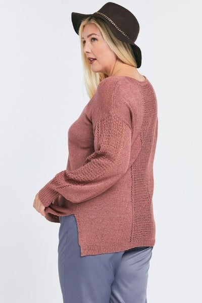 Draw The Line Sweater