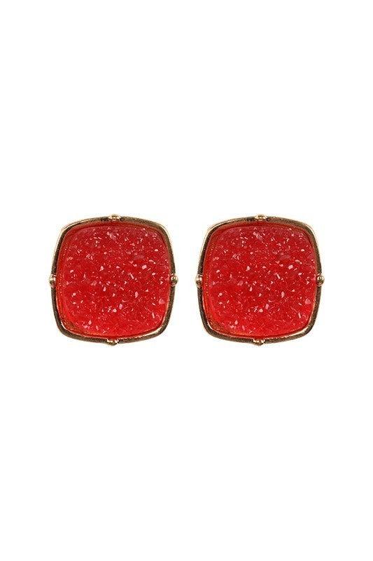 Double Take Druzy Earrings