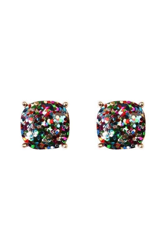 Disco Druzy Earrings