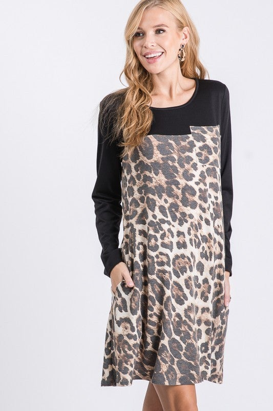 Walking On The Wild Side Dress