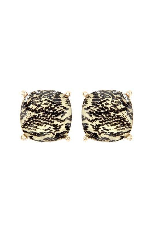 Snake Skin Earrings