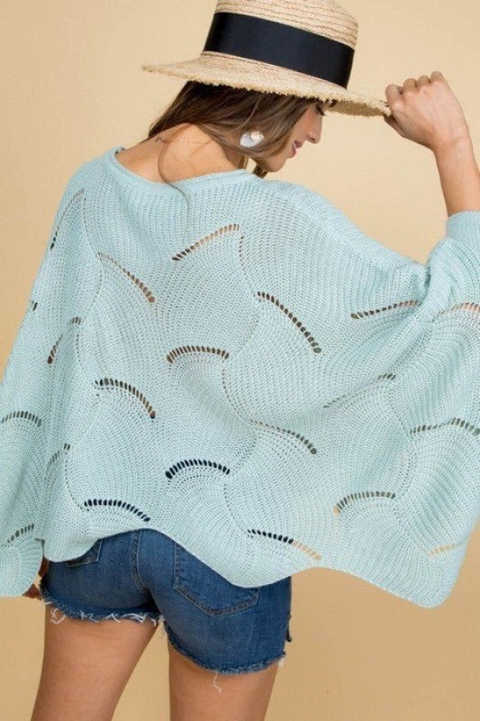 Wandering Waves Sweater