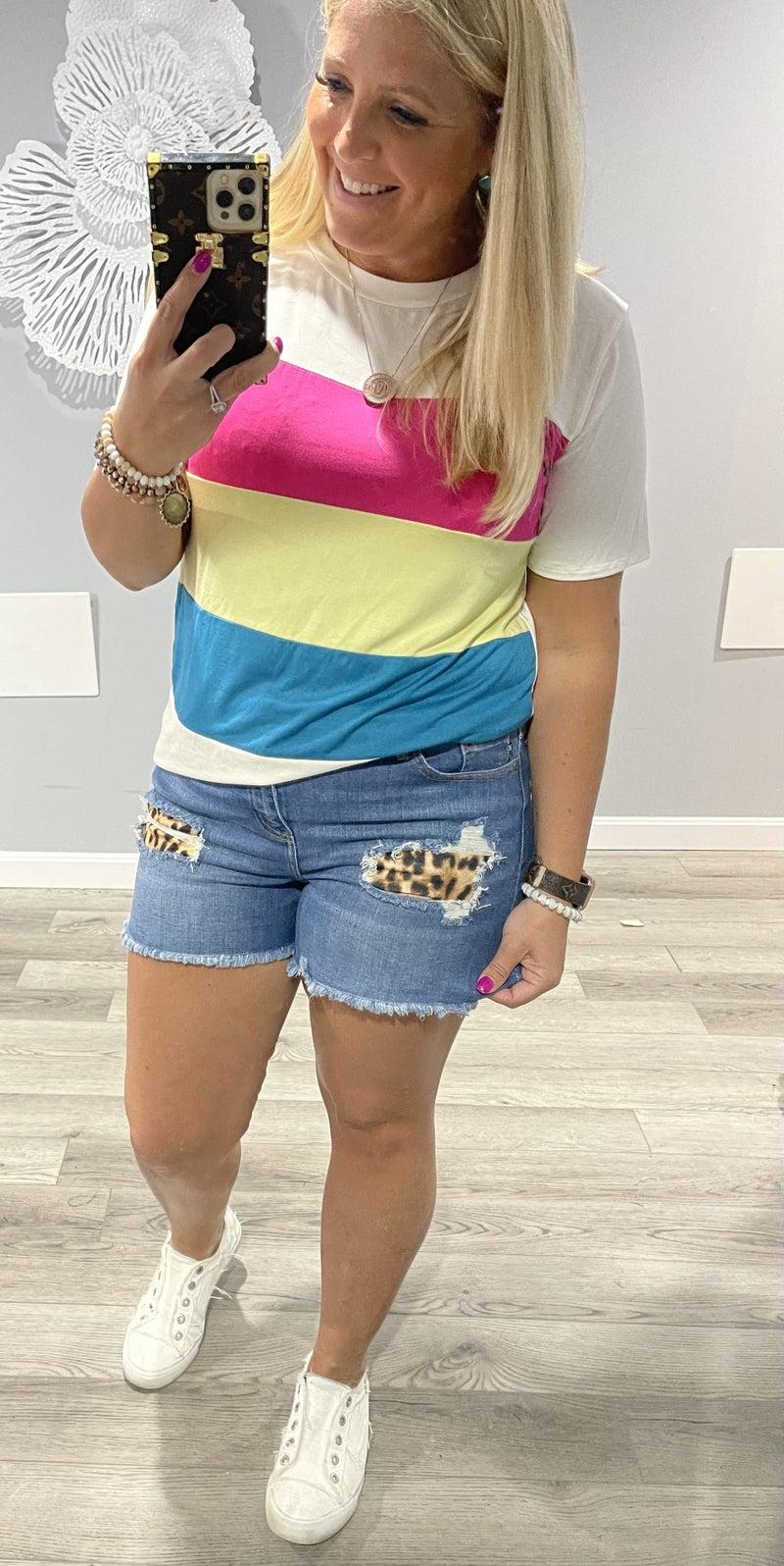 Wild & Free Judy Blue Shorts
