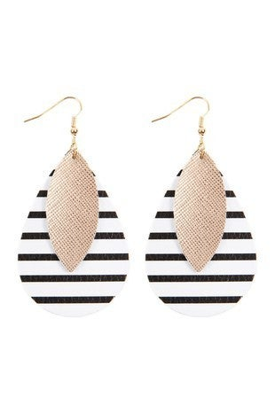 Seriously Striped Earrings