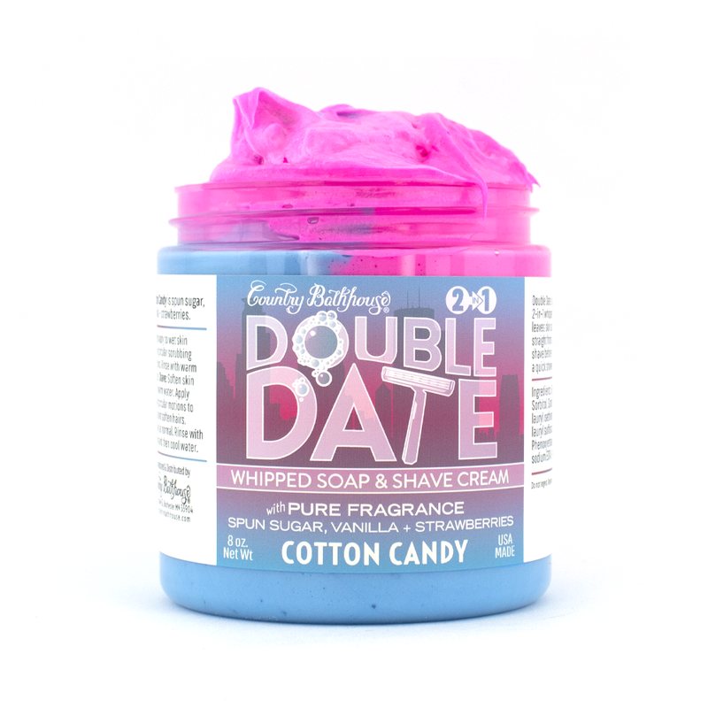 Double Date Whipped Soap and Shaving Cream