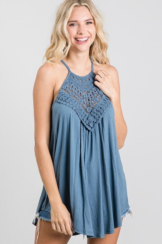 Crochet Lace Tank Top