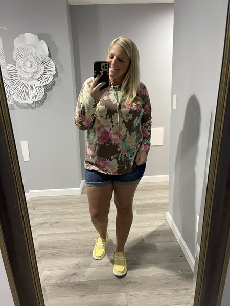 Fun With Florals Hoodie