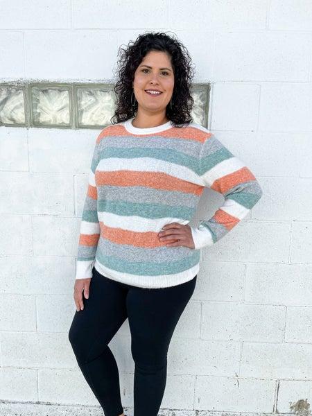 Christine Fuzzy Sweater