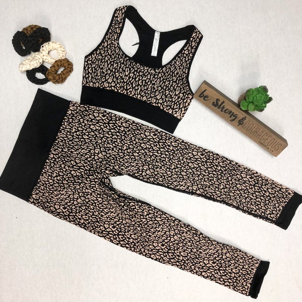 Cheetah Print Capri (Activewear)
