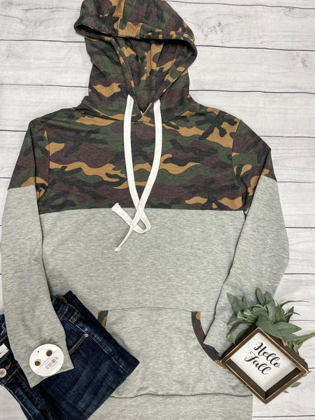Can't Be Seen Camo Hoodie