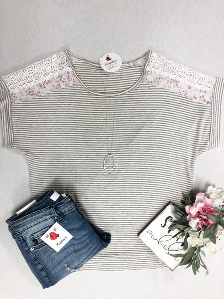 Simple Floral Top