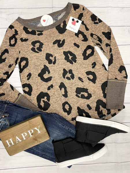Love Me Some Leopard Top