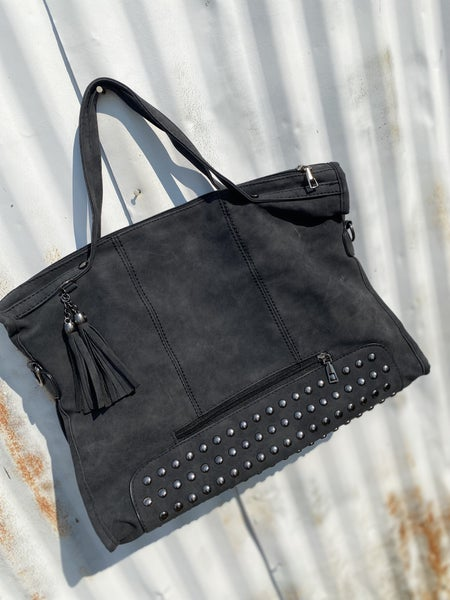 Laurie Charcoal Purse