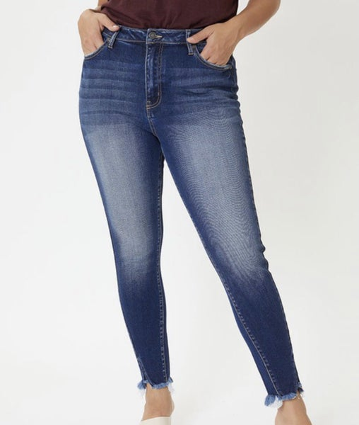 Kancan Dark Wash Denim Jeans