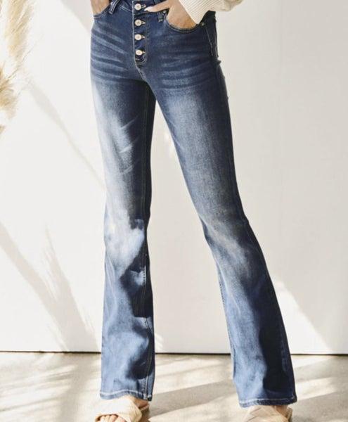 KanCan High Rise Boot Cut Jeans