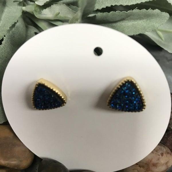 Triangle Sparkle Earrings