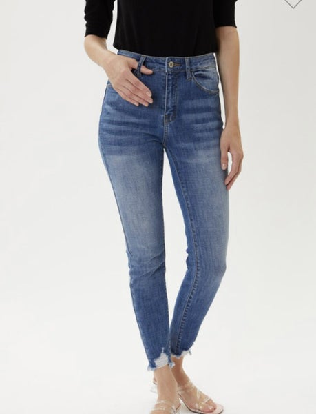 Kan Can High Rise Medium Wash Jeans
