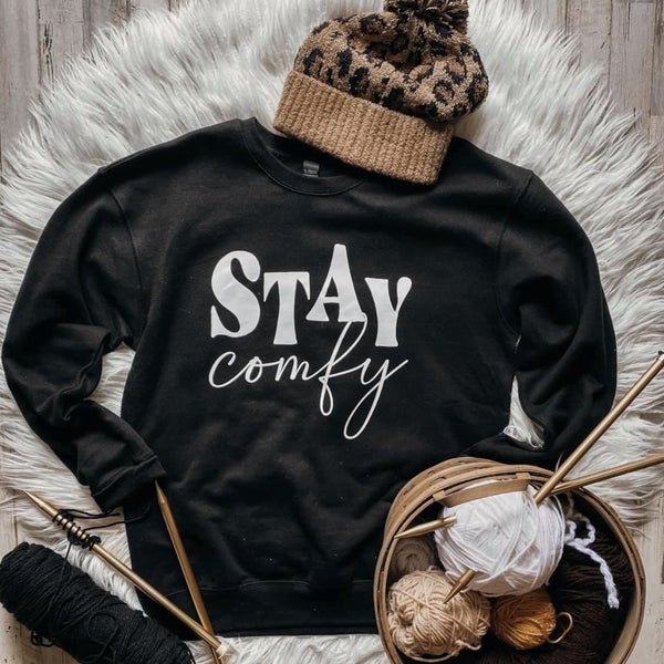 Stay Comfy Graphic T
