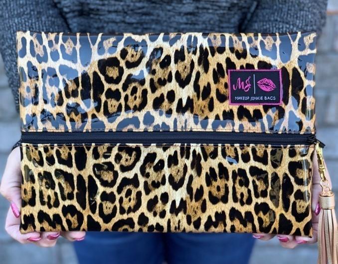 Patent Leopard Makeup Junkie