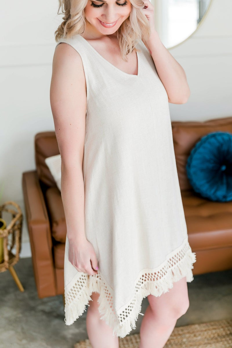 It Just Comes Natural Sleeveless Dress