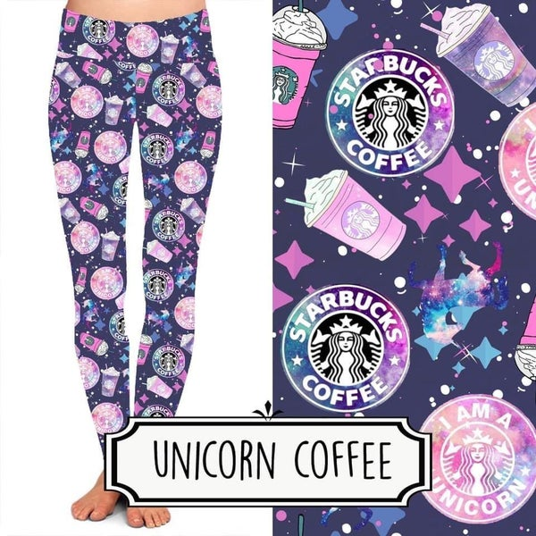 Unicorn Coffee Leggings