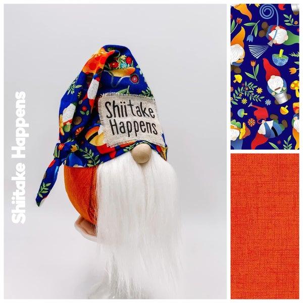 Shiitake Happens Gnome