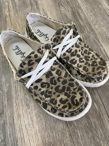 Gypsy Jazz Leopard Slip on Sneakers