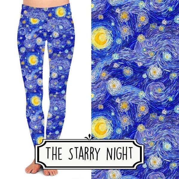 The Starry Night Leggings