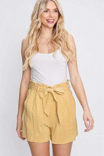 Dancing in the Daffodils Paperbag Shorts