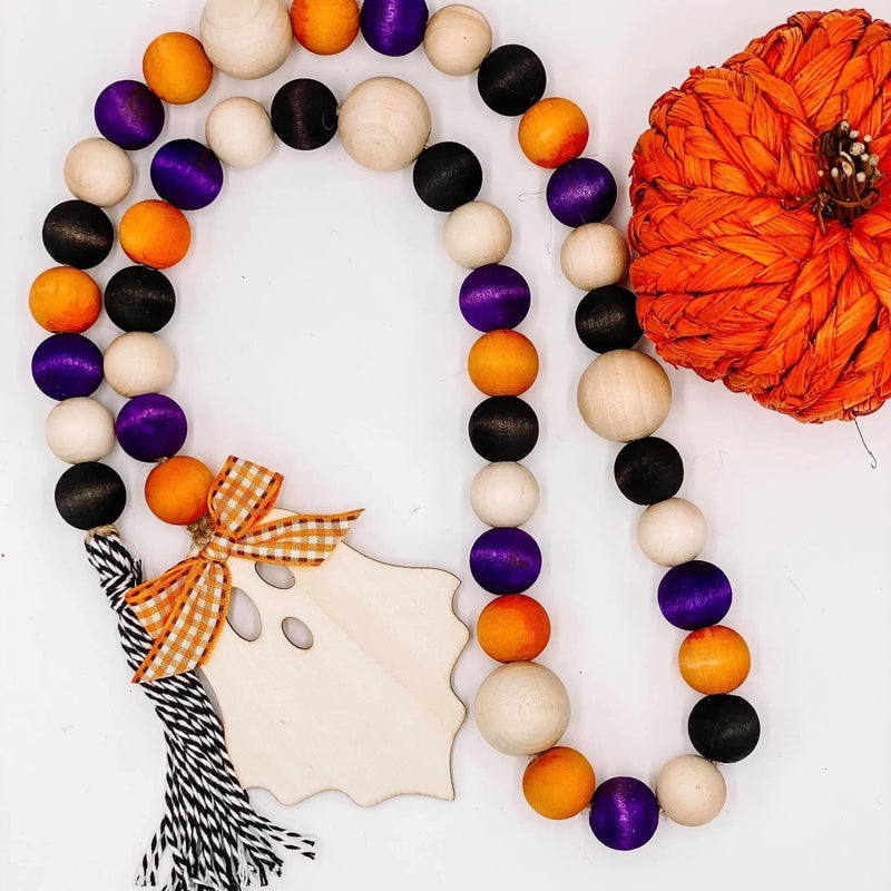 Fall/Halloween Bead Garland