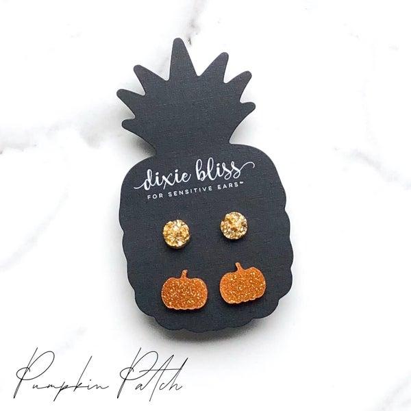 Pumpkin Patch Earrings