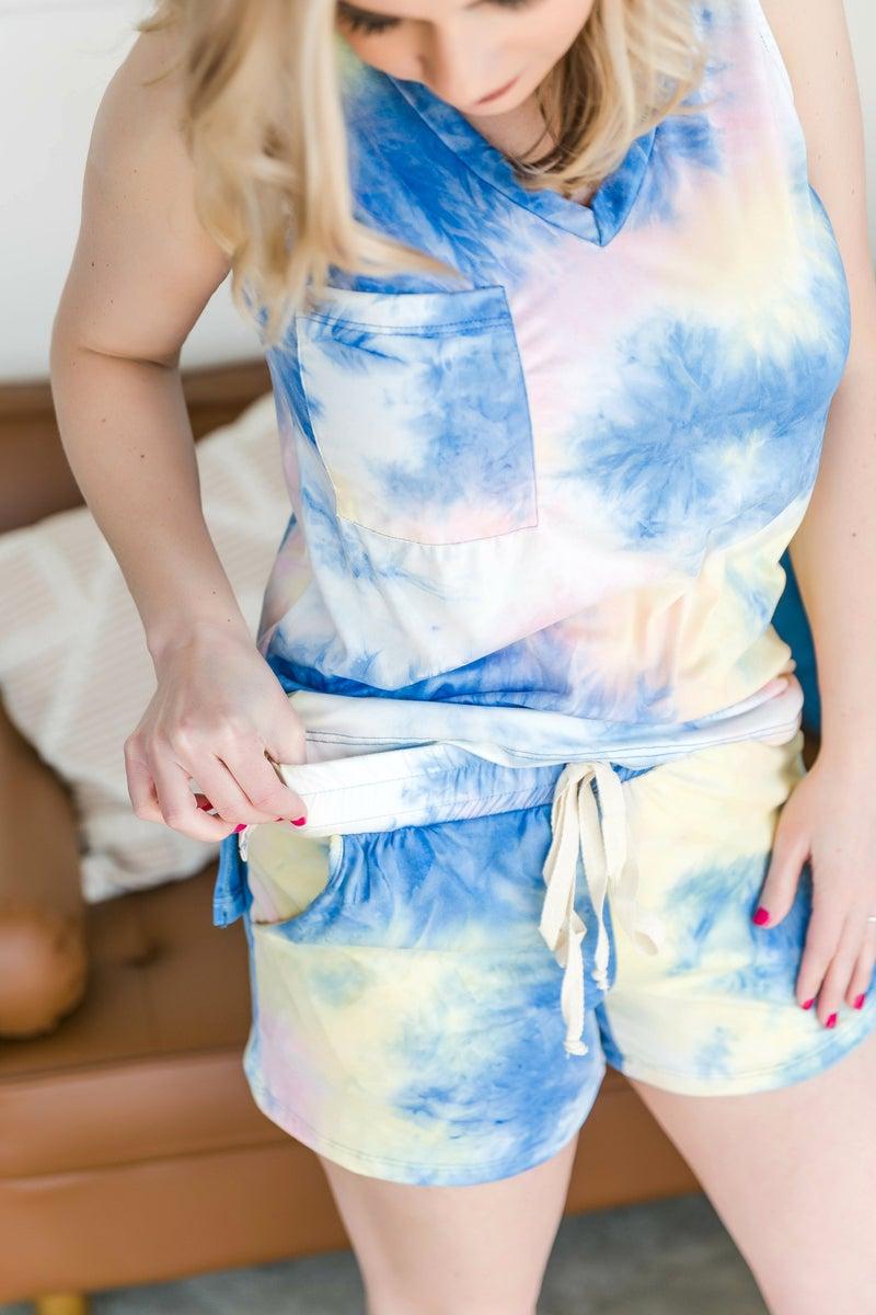 Pastel Reflections Shorts