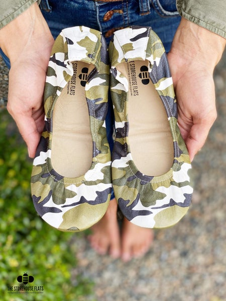 Camo Storehouse Flats - IN STOCK NOW