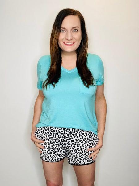 Snow Leopard Everyday Shorts