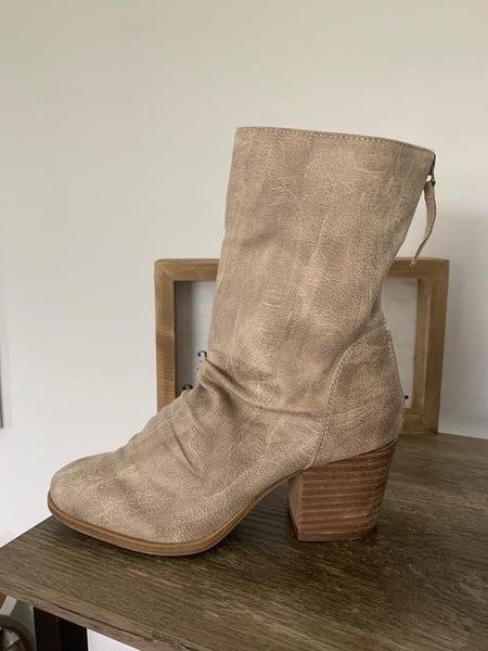 Very G Preston Cream Ankle Boots