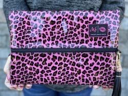 Pink Patent Leopard Makeup Junkie