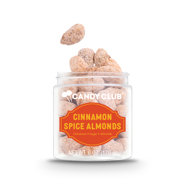 Candy Club Autumn Collection: Cinnamon Spice Almonds