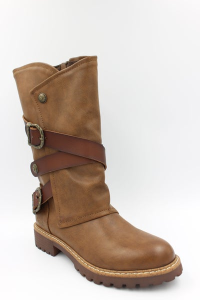 Blowfish Romie Boots in Whiskey
