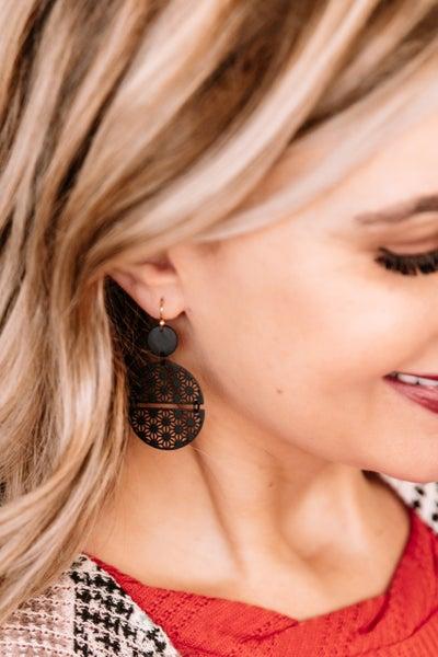 Let's Circle Back Filigree Earrings
