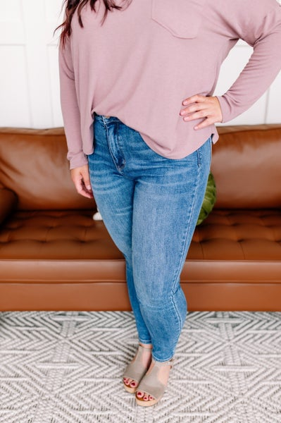Tummy Control Judy Blue Jeans