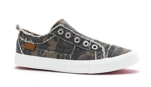 Camo Babalu Slip On Sneaker