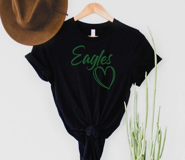 Oakwood Eagles Custom Spirit Tee